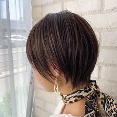 デート ショートボブ ヘアアレンジ ショート ヘアスタイルや髪型の写真・画像