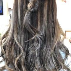 モード 大人女子 外国人風カラー ロング ヘアスタイルや髪型の写真・画像