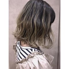 透明感 フェミニン グラデーションカラー 抜け感 ヘアスタイルや髪型の写真・画像