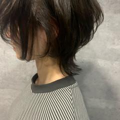 ウルフカット ナチュラル ウルフ女子 ショート ヘアスタイルや髪型の写真・画像