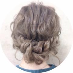 結婚式 アップスタイル 簡単ヘアアレンジ ヘアアレンジ ヘアスタイルや髪型の写真・画像