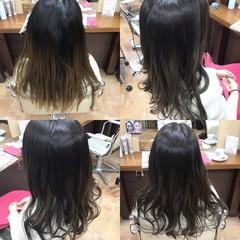 髪質改善カラー 髪質改善トリートメント グレージュ ナチュラル ヘアスタイルや髪型の写真・画像