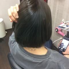 イルミナカラー 外国人風カラー ガーリー ボブ ヘアスタイルや髪型の写真・画像