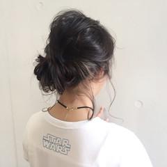 ハイライト イルミナカラー インナーカラー ミディアム ヘアスタイルや髪型の写真・画像