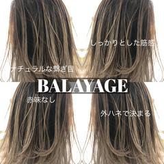 外国人風カラー ミディアム グラデーションカラー ストリート ヘアスタイルや髪型の写真・画像