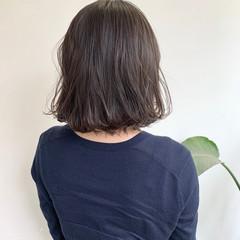 ナチュラル アッシュベージュ ボブ ブラウンベージュ ヘアスタイルや髪型の写真・画像