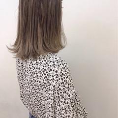 ブリーチ ハイライト ナチュラル 大人かわいい ヘアスタイルや髪型の写真・画像