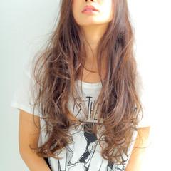 外国人風 ゆるふわ ロング 大人かわいい ヘアスタイルや髪型の写真・画像