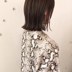 外はね 切りっぱなしボブ 切りっぱなし ワンカール ヘアスタイルや髪型の写真・画像