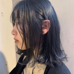 成人式 オフィス ボブ モード ヘアスタイルや髪型の写真・画像