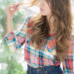 ストリート ハイライト 外国人風 アッシュ ヘアスタイルや髪型の写真・画像