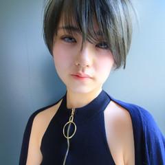 ショートマッシュ ショート フェミニン マッシュMIX ヘアスタイルや髪型の写真・画像