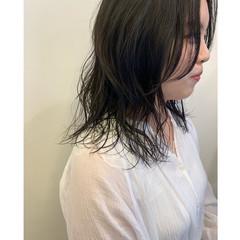 ゆるふわパーマ 無造作パーマ デジタルパーマ 毛先パーマ ヘアスタイルや髪型の写真・画像
