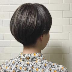 ブリーチ ナチュラル マッシュ 透明感 ヘアスタイルや髪型の写真・画像