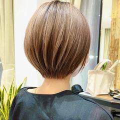 ショートボブ ショートヘア ショート ハンサムショート ヘアスタイルや髪型の写真・画像
