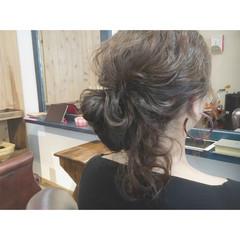 ゆるふわ ロング デート ヘアアレンジ ヘアスタイルや髪型の写真・画像