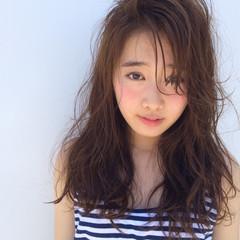 アッシュ 夏 外国人風 ストリート ヘアスタイルや髪型の写真・画像