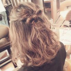 モテ髪 ナチュラル ヘアアレンジ かわいい ヘアスタイルや髪型の写真・画像