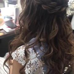 エレガント パーティ フェミニン 上品 ヘアスタイルや髪型の写真・画像