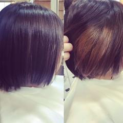 デート インナーカラー ナチュラル ヘアアレンジ ヘアスタイルや髪型の写真・画像