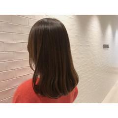 ワンカール デート オフィス ミディアム ヘアスタイルや髪型の写真・画像