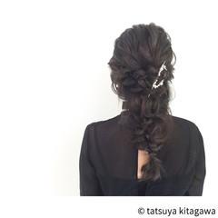 ゆるふわ 結婚式 ヘアアレンジ 外国人風 ヘアスタイルや髪型の写真・画像