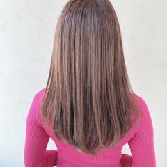 ナチュラル 内巻き 可愛い 艶髪 ヘアスタイルや髪型の写真・画像
