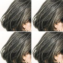 こなれ感 色気 切りっぱなし ボブ ヘアスタイルや髪型の写真・画像