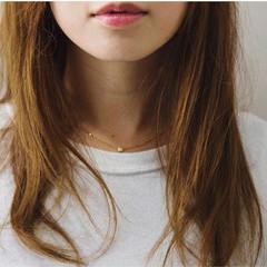 冬 ナチュラル こなれ感 大人女子 ヘアスタイルや髪型の写真・画像