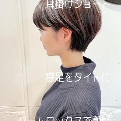 ベリーショート ショート ショートヘア 大人ショート ヘアスタイルや髪型の写真・画像