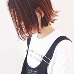 ボブ 外国人風カラー ミニボブ ストリート ヘアスタイルや髪型の写真・画像