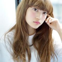 ガーリー ロング フェミニン モテ髪 ヘアスタイルや髪型の写真・画像