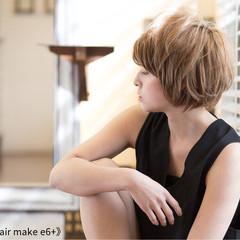 ショート 似合わせ 爽やか 小顔 ヘアスタイルや髪型の写真・画像
