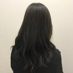 透明感 オフィス 秋 ナチュラル ヘアスタイルや髪型の写真・画像