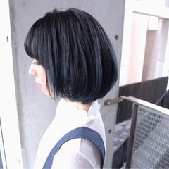ブルージュ ストリート 色気 小顔 ヘアスタイルや髪型の写真・画像