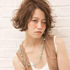 ストリート フェミニン 外国人風 ボブ ヘアスタイルや髪型の写真・画像