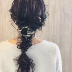 デート コンサバ ロング 結婚式 ヘアスタイルや髪型の写真・画像