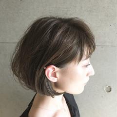 アッシュ 大人女子 ゆるふわ 暗髪 ヘアスタイルや髪型の写真・画像