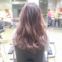 ガーリー 冬 暗髪 ミディアム ヘアスタイルや髪型の写真・画像