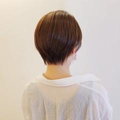 ショートヘア コンパクトショート 小顔ショート ショート ヘアスタイルや髪型の写真・画像