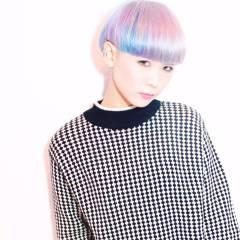 ハイトーン ヘアスタイルや髪型の写真・画像