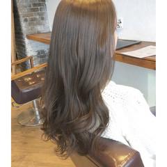 ロング ニュアンス 小顔 大人女子 ヘアスタイルや髪型の写真・画像