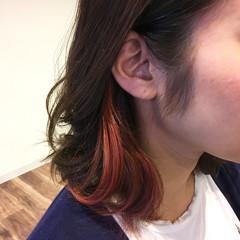 ナチュラル 外国人風カラー ブリーチ インナーカラー ヘアスタイルや髪型の写真・画像