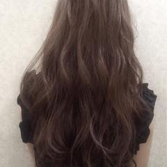 アッシュグレージュ 大人かわいい グレージュ アッシュ ヘアスタイルや髪型の写真・画像