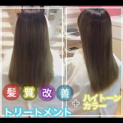 大人ロング ナチュラル 髪質改善 ロング ヘアスタイルや髪型の写真・画像