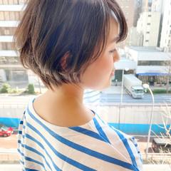 ゆるふわ ショート ベリーショート 大人かわいい ヘアスタイルや髪型の写真・画像