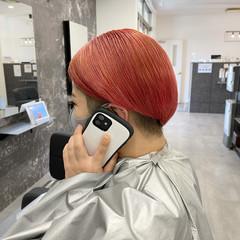 艶髪 ショートヘア 髪質改善 ストリート ヘアスタイルや髪型の写真・画像