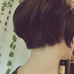 小顔 リラックス くせ毛風 ナチュラル ヘアスタイルや髪型の写真・画像