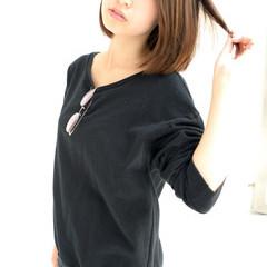 ミディアム 外国人風 大人かわいい コンサバ ヘアスタイルや髪型の写真・画像