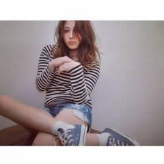 セミロング 春 モテ髪 ナチュラル ヘアスタイルや髪型の写真・画像